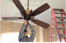 Fishers best ceiling fan installation best fishers indiana fishers area ceiling fan installation mozeypictures Image collections